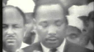 """Martin Luther King """"I Have A Dream"""" Speech"""