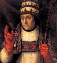 Alfonso de Borja, obispo de Valencia y papa Calixto III (cropped)
