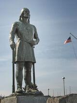 Seattle's Leif Erikson statue