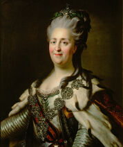 Catherine II by J.B.Lampi (1780s, Kunsthistorisches Museum)