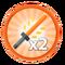 X2 Damage Gamepass