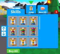 Skills Shop GUI