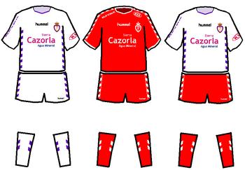 Equipación 2005-2006