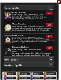 Mercerairy spell choice