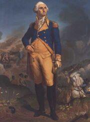 George washington stand
