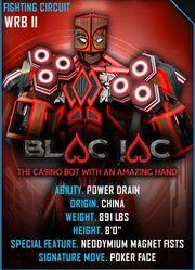 Blac jac card