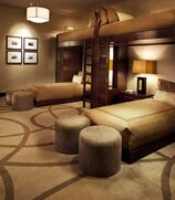 Modern-adult-bedroom-with-stylish-bunk-beds