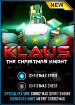 Real Steel WRB Klaus Card
