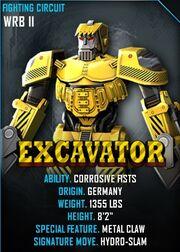 2 Excavator Card