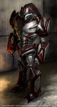 Robot Captain Concept by BDPatton