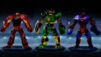 Hybrid Warriors 1