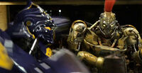 Real Steel Noisy Boy vs Midas 01