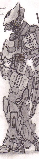 Anhur x 1 xana robot infantry by fallenseeker-d4s8mx1