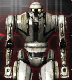 Albino in Real Steel WRB