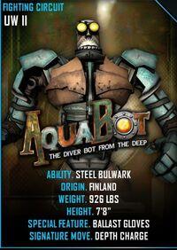 Aquabot card