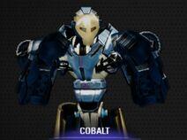 Cobalt Portrait