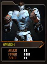Real Steel HD Ambush Card Asura