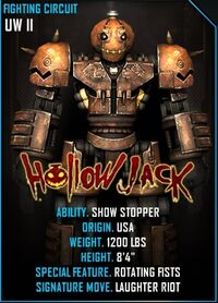Hollow jack card