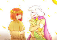 Reapertale Chara and Asriel