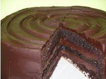 Devils fudge cake