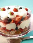 Various types of trifles
