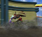 Daemon fighting Hex
