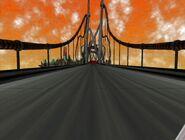 Gilded Gate Bridge 2