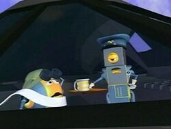 Binky and pilot