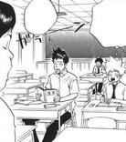 Tsuna y Yamamoto en clases de verano
