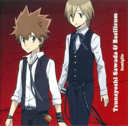 "Character Album SONG ""RED"" ~FAMIGLIA~ basil y tsuna - RIGHT NOW"