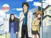 Shamal tras defender a Kyoko y a Hana