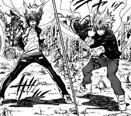 Enma vs Tsuna