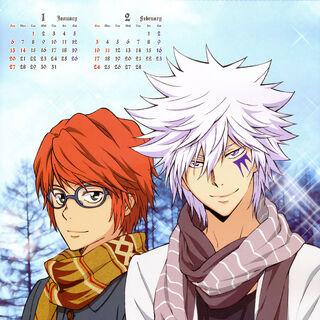 January/February: Byakuran & Shoichi Irie