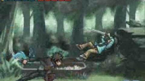 Kateikyoushi Hitman Reborn DS Flame Rumble Hyper Moeyo Mirai Yamamoto Vs. Future Yamamoto