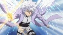 Byakuran preparándose para atacar