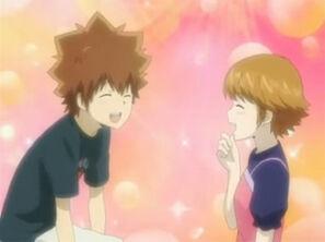 Tsuna and Kyoko