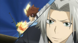Colonnello vs Gokudera & Tsuna