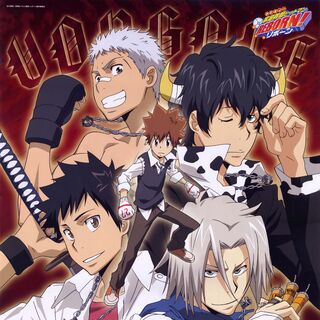 January/February: Tsuna, Gokudera, Yamamoto, Ryohei, and 10YLLambo.