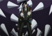 Tetsuya cargando a los heridos