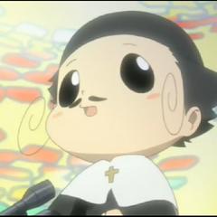 Reborn's priest costume.