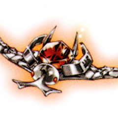 The Earth Ring forms into an insect shape to fly and merge with Tsuna's Sky Ring.