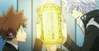 Byakuran y Tsuna
