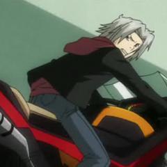 Gokudera's airbike