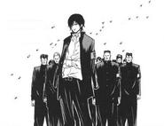 Hibari y el comité