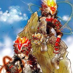 Tsuna, Natsu, & Enma