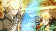 Giotto Appears Before Tsuna