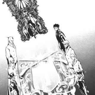 Tsuna's Vongola Trial in the manga.