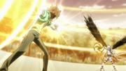 Byakuran And Tsuna Final Attack Preperations