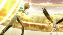 Byakuran And Tsuna Final Attack Preperations