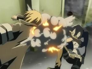 Gokudera usa Bomba Aerosol